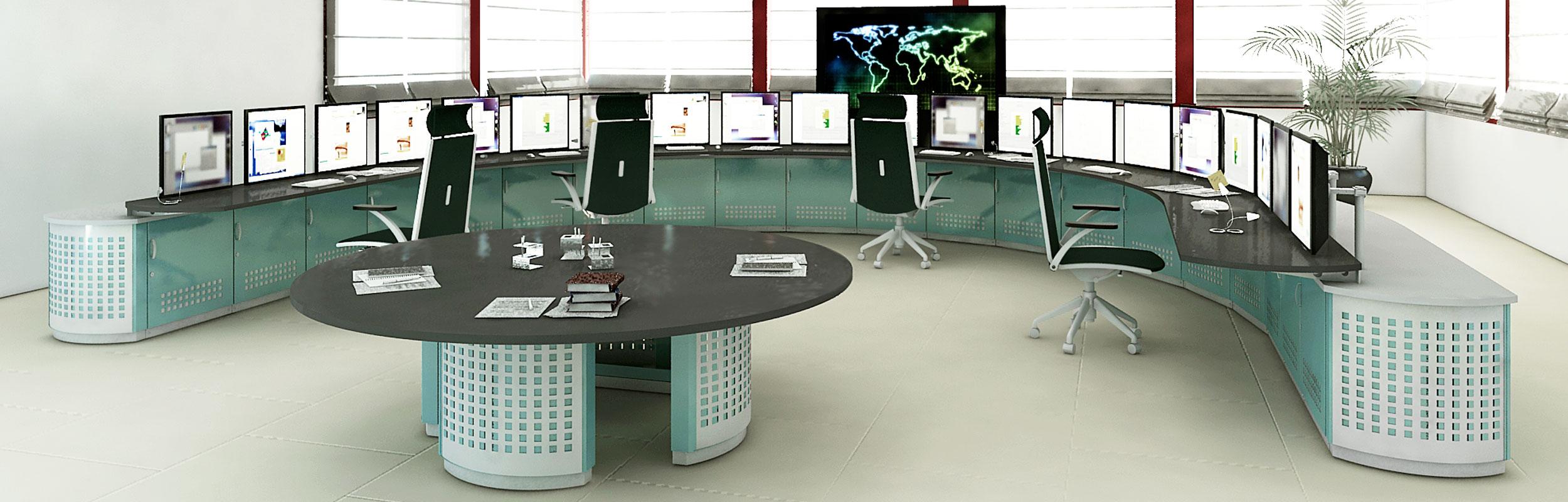 Console per Control Room