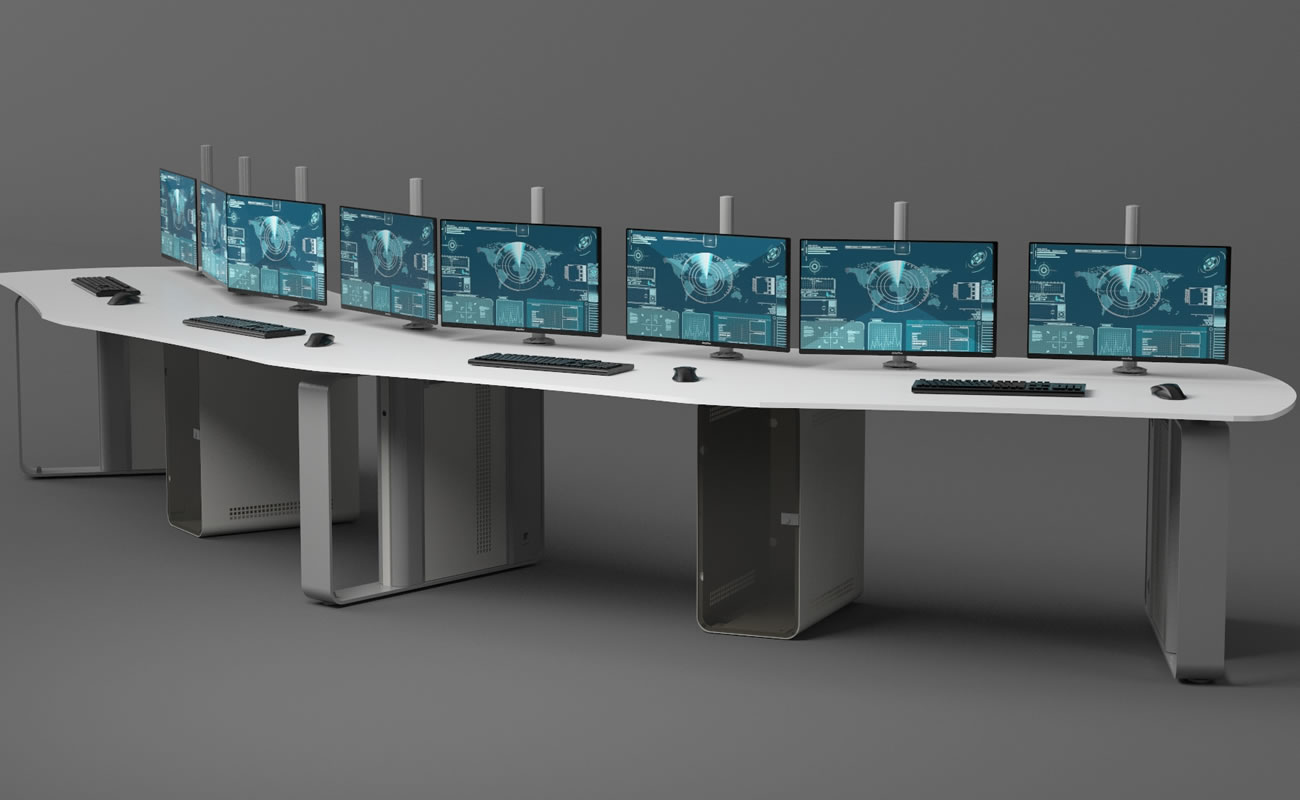 Control Room Forniture Design Tecno
