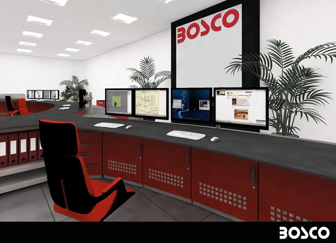 Console 3000 control room for Arredo ufficio tecnico